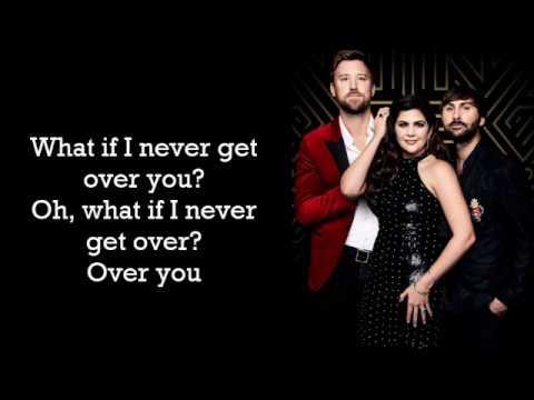 Lady Antebellum ~ What If I Never Get Over You (Lyrics)