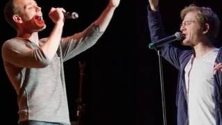 """Adam Pascal & Anthony Rapp """"Celebrating 20 Years of Friendship"""" at 54 Below - NYC 10/10/2016"""