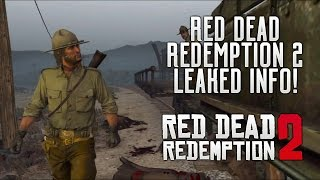 Red Dead Redemption 2 - HUGE Info! Leaked Character Roles, Native American Tease & Much More RDR2!