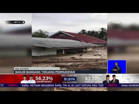 Banjir Bandang Terjang Pemukiman Sigi, Sulteng NET12