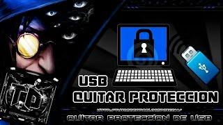 Elimina La Proteccion Contra Escritura USB