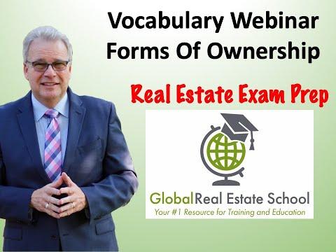 Real Estate Exam Prep - AUDIO ONLY VERSION Vocabulary ...