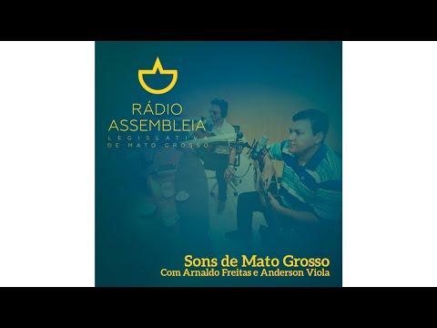 Arnaldo Freitas e Anderson da Viola na Rádio Assembleia 89,5 FM
