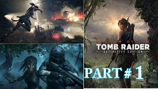 SHADOW OF THE TOMB RAIDER Gameplay Walkthrough Part 1 [1080p HD 60FPS PS]