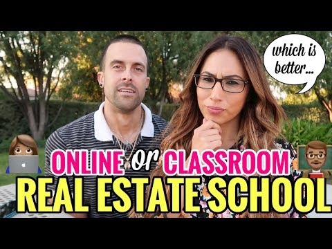 Getting Your Real Estate License: Online School vs Classroom ...