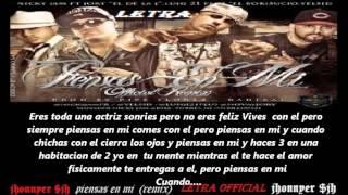 piensas en mi (remix) nicky jam  ft jory, yelsid, luigy 21 {letra} 2012 new reggaeton  $jh