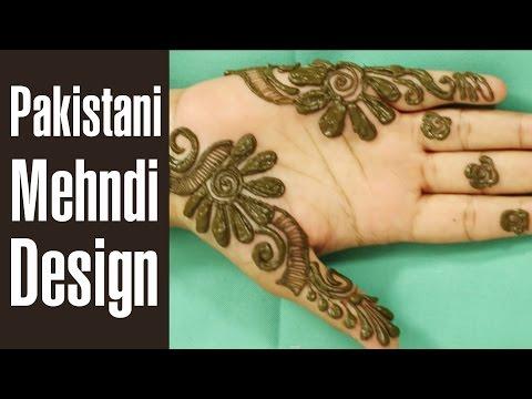 traditional pakistani mehndi design tutorials by style craze