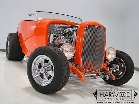 Video of Classic '32 Ford Roadster located in Cleveland Ohio Offered by Harwood Motors, LTD. - F13N