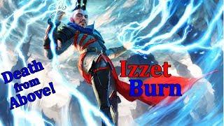 Modern Izzet Flying Burn w/ Flamebreak!!