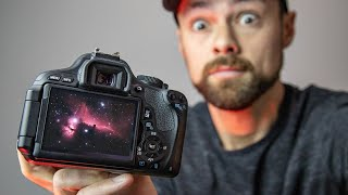 NEBULA Photography with a Cheap DSLR & Lens