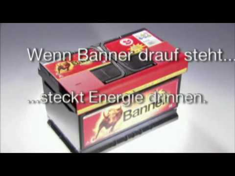 Autobatterien von Banner - Batteriepool Trailer
