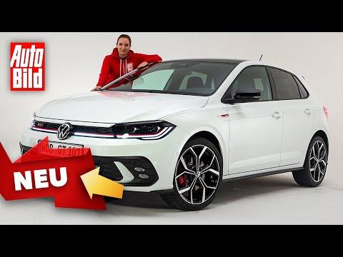 VW Polo GTI Facelift (2021) |Erster Check im frischen Polo GTI |Sitzprobe mit Katharina Berndt