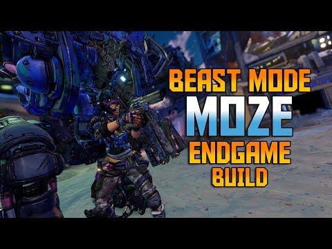 [BORDERLANDS 3] Beast Mode MOZE - Endgame Build [w/ SAVE File]