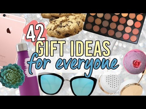 42 Gift Ideas For Everyone You Know!