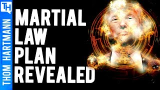 If Trump Declared Martial Law Would He Still Be President?