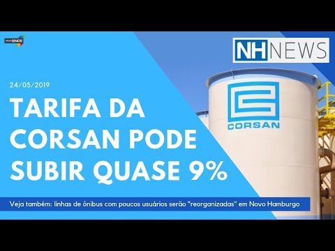 📺 NH News: tarifa da Corsan pode subir quase 9% em 15 municípios