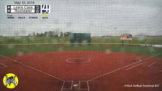 Girls Softball Sectional #37 (Oak Hill) Lewis Cass vs Rochester