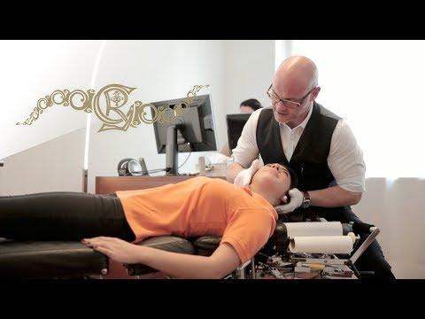 Punktmassage der Osteochondrose