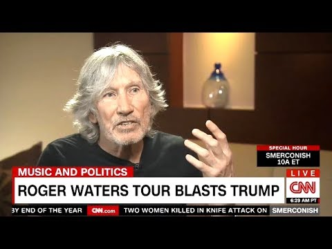 Roger Waters (From Pink Floyd) Tour Blasts TRUMP (CNN)