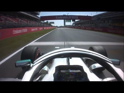 2019 Spanish Grand Prix: Valtteri Bottas' Pole Lap | Pirelli