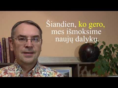 LITHUANIAN LESSON 135 - PROBABLY - Ko gero