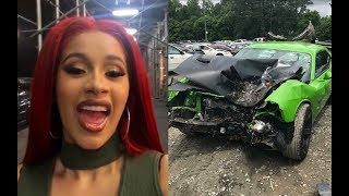 Cardi B quickly DELETES tweet about the CAUSE of Offset