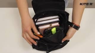 """Рюкзак молодежный Urban K18-882M от компании Интернет-магазин """"Радуга"""" - школьные рюкзаки, канцтовары, творчество - видео"""
