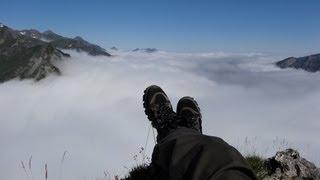 preview picture of video 'Randonnée Pyrénées, Vallée d'Ossau Août 2013'