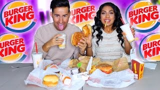 Trying Burger King Fast Food Taste Test!