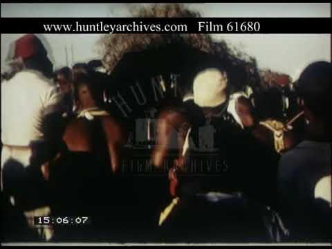 Kenyan Dancing, 1950s - Film 61680