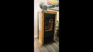 Аккумуляционная печь камин Haas + Sohn Pinerolo (Песчаник) ( кафельная печь , каминофен) від компанії House heat - відео 1