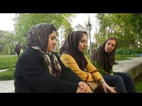 Reciting ghazals of Hafiz and Saadi, in Teheran...