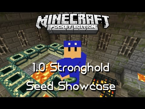 1 0/0 17 0] STRONGHOLD AT SPAWN SEED - MCPE Seed Showcase