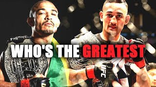 Jose Aldo or Max Holloway, Who is the actual GOAT?