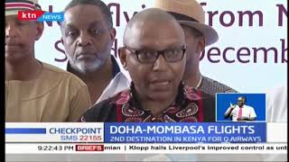 Qatar Airways begins flights to Mombasa