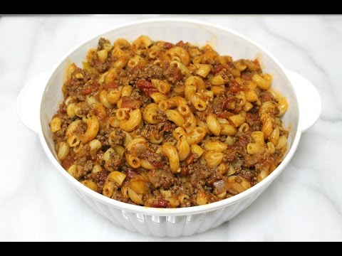 Goulash Recipe – Pasta with Ground Beef – In the Kitchen with Jonny Episode 132
