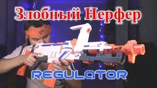 """Бластер NERF modulus regulator от компании Интернет-магазин """"Timatoma"""" - видео"""
