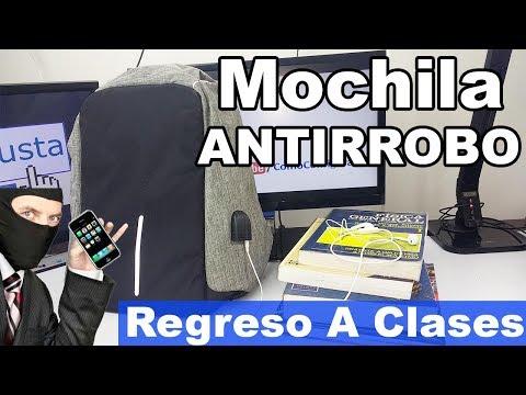 Futurista Mochila Antirrobo Para Regreso A Clases 2017 al 2018