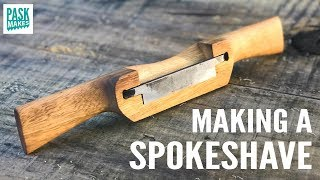 Homemade Spokeshave and Blade