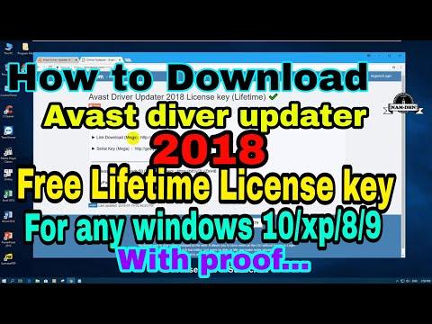 avast driver updater registration key free download