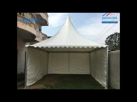 Colored Pagoda Tent
