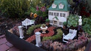 Formal Miniature Garden 😍🌿// Garden Answer