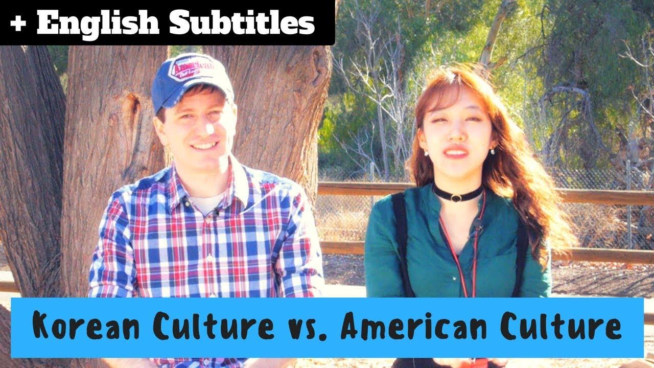 American culture vs