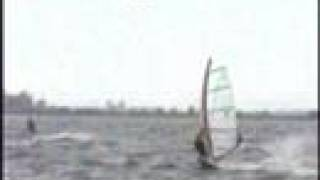 preview picture of video 'Windsurf Chascomus 40 Knots 03/11/07'