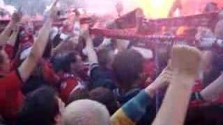 Huldiging FC Twente - you'll never walk alone