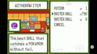 pokemon cloud white cheats master ball