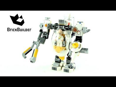Lego Batman 70920 Egghead Mech Food Fight - Lego Speed Build