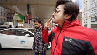 SOMEONE WAS SMOKING AT THE PETROL PUMP !!