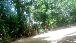 villagers tribal song - vanuatu