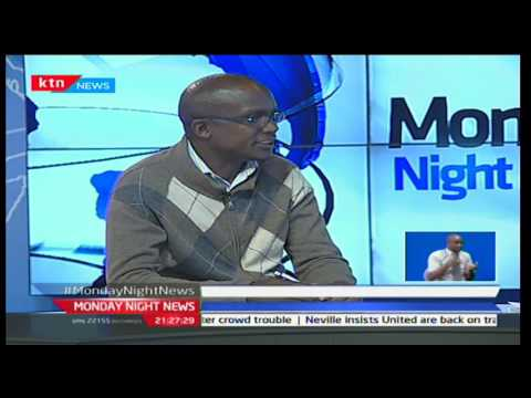 Monday Night News: Alfred Obengo Chair Nurses Union talking of issues medics strike, 5/12/16 part 2